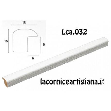 CORNICE BOMBERINO BIANCO OPACO 12X18 LCA.032