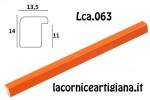 CORNICE BOMBERINO ARANCIO LUCIDO 50X50 LCA.063