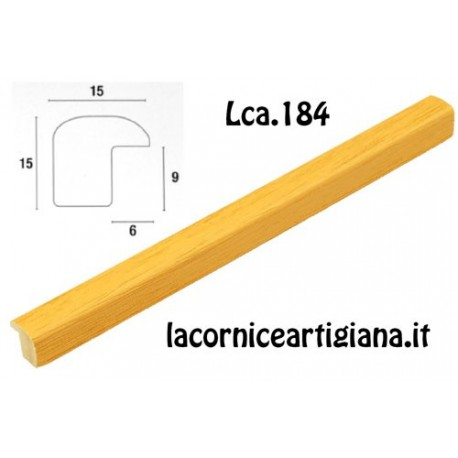 CORNICE BOMBERINO GIALLO OPACO 20X30 LCA.184