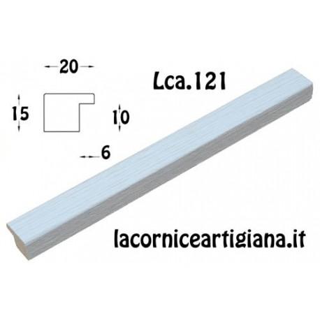 CORNICE PIATTINA BIANCO OPACO 30X90 LCA.121