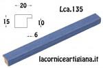 CORNICE PIATTINA AZZURRO OPACO 40X80 LCA.135