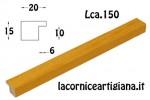 CORNICE PIATTINA GIALLO OPACO 12X12 LCA.150