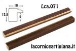 CORNICE PIATTINA NOCE FILO ORO 60X80 LCA.071