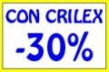 CON CRILEX SCONTO 30%