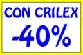 CON CRILEX SCONTO 40%